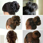 New Pony Tail Hair Extension Bun Hairpiece Scrunchie Hot
