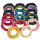 3M/5M Real Leather Necklace Charms Rope String Cord 1mm/1.5mm/2mm /2.5mm/3mm
