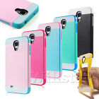 SHOCK PROOF HYBRID CASE COVER FOR SAMSUNG GALAXY S4 MINI I9190 + FREE PROTECTOR