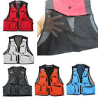 Multi Pocket Jacket Hunting Fly Fishing Travel Mesh Vest Photography Waistcoat