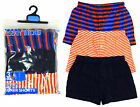 Boys Value Pack of 3 Cotton Boxer Shorts Underwear Pants 5-13 yrs NEW