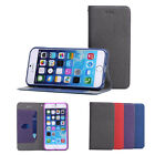 DS Cloth Style Leather Case Wallet Stand Magnetic Cover Skin For Apple iPhone 6
