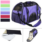 Large Pet Carrier OxFord Soft Sided Cat / Dog Comfort Travel Tote Shoulder Bag