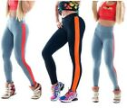 Cotton Spandex Women Stretchy Sports Yoga Pencil tights pants leggings jeggings