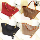 New Womens Ladies Designer Leather Style Tote Bag Shoulder Handbag Shopper large