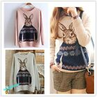 New Women's Long Sleeve Knitwear Jumper Cardigan Long Coat Jacket  Casual Sweate