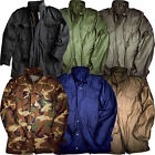 Alpha Industries M65 Jacket Combat Parka Military Autumn Us Army Bw