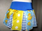 NEW CUTE Blue,Yellow,White,Ducks,Spots,Check,Lolita,Festival Skirt-All sizes
