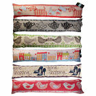 LUXURY VINTAGE TAPESTRY DOOR DRAUGHT EXCLUDERS  - CHOOSE FROM MANY DESIGNS