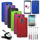 Phone Case For LG G3 Vigor Hard Cover + Car Charger Screen Protector Re-Pen