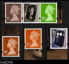 2013 DOCTOR WHO Single M12L MPIL Machins and Tardis Stamps from PSB