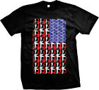 Guns And Bullets USA Flag 2nd Amendment Americana Pride Freedom Mens T-shirt image