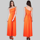 Womens Diamante Stretch Evening Wedding Party Bridesmaid Maxi Cocktail Dress Hot