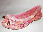 GIRLS PINK EMBROIDERED SEQUINS BRIDESMAID PARTY SLIP ON PUMPS SHOES