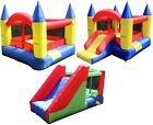 Maribelle Inflatable Bouncy Castle With Constant Air Flow System Climb Slide New
