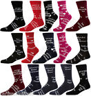 Artscape Christmas & Everyday Humorous Rude Novelty Socks Men Women Xmas