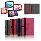 "Leather Folder Pouch Cover Protector Case Stand For 7""inch Q88 Android Tablet PC"