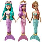 Nixies Swimming Mermaid Dolls Princess Bella Narissa and Amelia Girls Water Toy