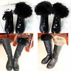 New Ladies Women Boots Fleece Socks Liners Faux Fur Socks Leg Stocking Fur Cuff