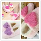 Fashion Women's Indoor Heart Shaped Slippers Foot Covering Soft-soled Pantofle Z