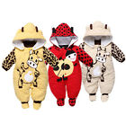 New Baby Xmas Coat Winter Cow Thick Cotton Padded Clothes Leotard Climb Clothes