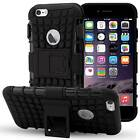 For Apple iPhone 6 4.7 Grip Armor Case Cover Belt Clip Holster with Kick Stand