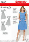 Simplicity 1652 Sewing Pattern Princess Seam Gather Skirt Dress Ladies Size 6-22