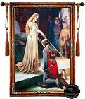Beautiful The Accolade Medieval Fine Tapestry Jacquard Woven Made Wall hanging