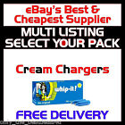 Nitrous Oxide Cream Chargers & Dispensers N2O Nos Noz LISS WHIP-IT! WHIP CREAM