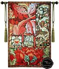 WILLIAM MORRIS TREE OF LIFE WOVEN MADE WALL HANGING TAPESTRY ABSTRACT COLLAGE X