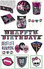 MONSTER HIGH Girls Birthday PARTY RANGE (Tableware Balloons & Decorations)