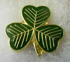 Clover pin badge Version 2. Ireland. St Partick. Shamrock