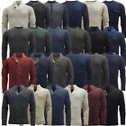 Mens Jumpers Long Sleeve Knitted Top Winter Knitwear Jumper New S M L XL XXL