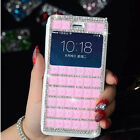 3D Crystal Bling Rhinestone Phone Hard Case Cover For Apple iPhone 6 6 Plus