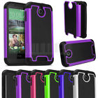 Rugged Armor Heavy Duty Impact Hybrid Hard Case Cover Skin For HTC Desire 510