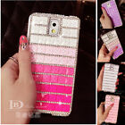 Fashion Gradient Bling Diamond Back Case Cover For Samsung Galaxy Note 4 N9100