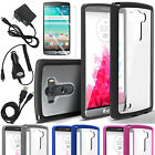 LG G3 2014 Ultra Slim Hybrid Shockproof Clear Back Bumper Case Cover Accessories