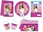 VIOLETTA Birthday PARTY RANGE (Tableware Balloons & Decorations)