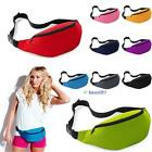 Unisex Running Bum Bag Travel Handy Hiking Sport Waist Belt Zip Fanny Pack BS