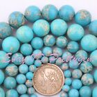 "4.6.8.10.12.14MM ROUND BLUE IMPERIAL JASPER GEMSTONE BEADS STRAND 15"" PINK SIZE"