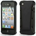 Tough Armour Hybrid Bumper Shock Proof Case Cover for the Apple iPhone 4 & 4S