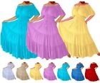 LotusTraders @A7581 MEXICAN PEASANT RUFFLED DRESS MISSES PLUS WOMENS STYLE MTO