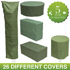 Woodside Waterproof Outdoor Garden Furniture Set Covers 5 Year Guarantee
