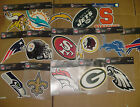 Pick your Team CAR WINDOW Color DECAL 8X8 Wincraft Auto House NFL Logo DIE CUT