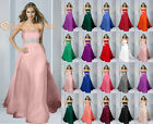 New 16 Colour Bridesmaid Party Dresses Prom Evening Formal Cocktail Chiffon 6-26