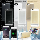 5000mAh External battery backup power bank charger case cover for iphone 6 &plus