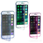 APPLE 4.7 iPhone 6 CLEAR WALLET FLIP TPU CRYSTAL SILICONE SOFT GEL CASE COVER