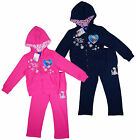 Girl's Official Disney FROZEN Elsa Snow Queen 2 Piece Hoody Tracksuit  4-8 Years