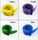 Fashion Design Unisex Trendy Candy Color Silicone Plastic belt Faddish Belt JCAU