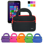 """Handle Carry Portfolio Sleeve Case Pouch Bag For HP Stream 8 5901/5909 8"""" Tablet"""